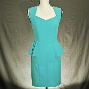 Alythea Sweetheart Neckline Peplum Dress